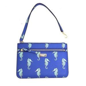 NWT Kate Spade Seahorse Clutch/Wristlet